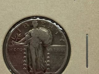 1930 Standing liberty Silver Quarter Dollar
