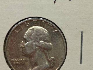1954 Washington Quarter Dollar