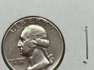 1957 D Washington Quarter Dollar
