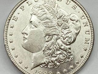 1898  1 Morgan Silver Dollar   Uncirculated