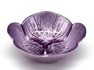 Pansy Two tone Purple Bowl