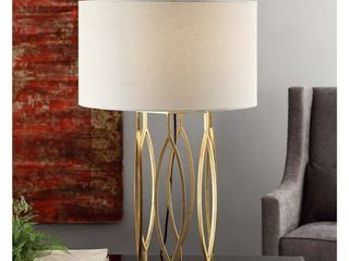 Global Gold leaf 32 inch Table lamp  Retail 175 89