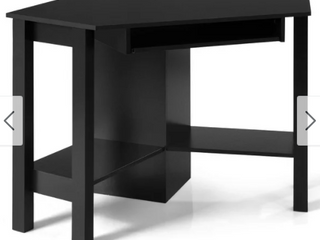 Wooden Corner Computer Desk with Drawer Office Study Table Retail 179 99