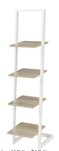Porch   Den Galvez 4 tier ladder Bookshelf Retail 117 49