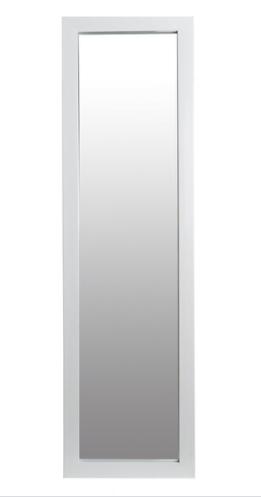 15x51  Domestic Over the Door Mirror   White  Retail 82 99