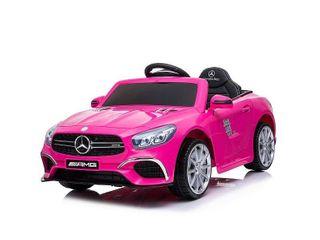 Best Ride On Cars Mercedes Sl 63 Pink 12V