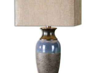 Uttermost Antonio Textured Stone Bronze lamp
