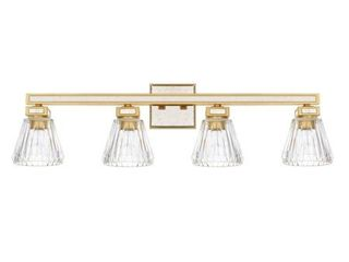 Capital lighting Abella 4 light Gold Bath Vanity light