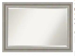 The Grey Barn Parlor Silver Bathroom Vanity Mirror