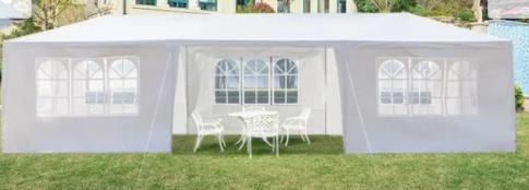 Upgrade Spiral Tube Wedding Party Gazebo Pavilion Canopy Tent   8 sides