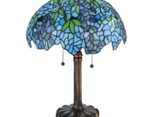 Blue Wisteria Tiffany Style lamp