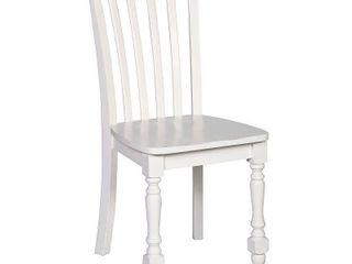 Hillsdale lauren Dining Chair in White