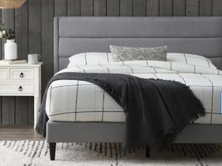 Brookside Sara Upholstered Triple lined Twin Size Platform Bed