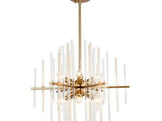 Woodbridge lighting 20116 Spires 6 light Chandelier Retail 287 52