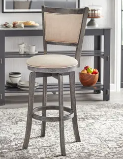 simple living French country 30 in swival barstool  tan
