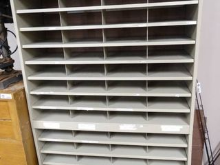 Metal Mail Organizer shelf
