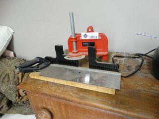 Hempe Miter Box and Handsaw