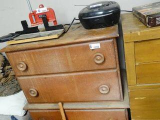 Wooden Dresser   no Contents
