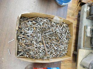 Box of Misc  Metal Screws
