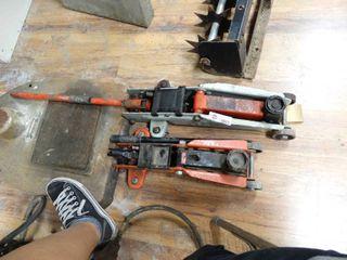 lot of 2 Automotive Floor Jacks