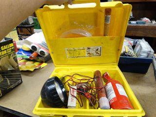 Elf Atochem Emergency First Aid Kit