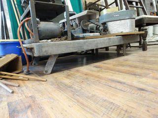 Flat warehouse cart  NO wheels