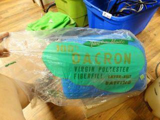 Dacron Virgin Polyester Fiberfill