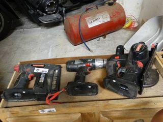 Craftsman Reciprocating Saw  Cordless Nail Gun and Drill with Batteries