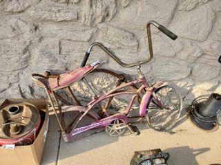 Vintage Spyder Bicycle Frame