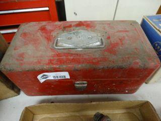 Metal victor tackle box