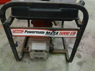 Coleman Powermate 5000 ER Generator