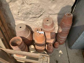 lot of Terracotta Pots