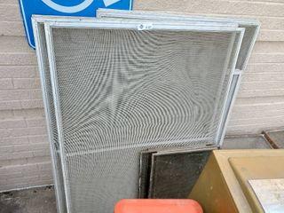 lot of Window Screens