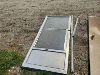 Aluminum Storm Screen Door
