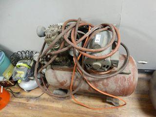 large Air compressor W  air hose
