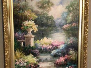 Pauline Garden Oil Painting