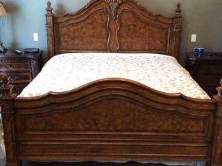Drexel Heritage King Bed Frame