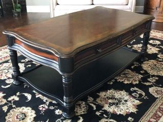 Hooker Furniture Coffee Table with Drawers