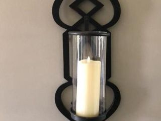 large Candle Wall Sconce