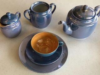 Hand Painted Japanese Tea Set