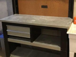 Husky Workbench with Outlets