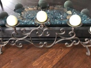 Candle Stand with 5 Candles