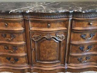 Marble Top Drexel Heritage Dresser