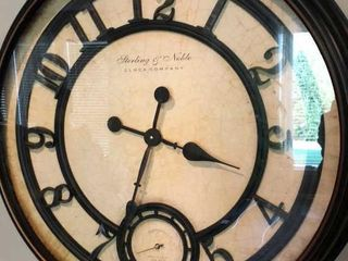 Sterling   Noble Clock