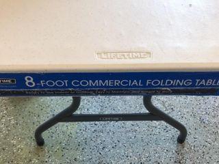 8 foot Folding Table