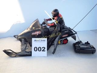 Remote Control Snowmobile