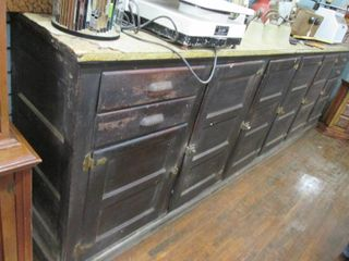 Antique Solid Wood Bar 144