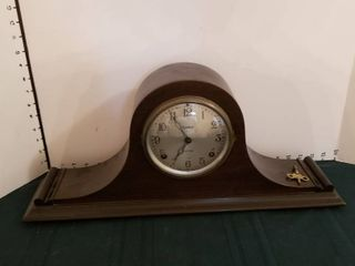 Ingraham 8 day mantle clock  as is