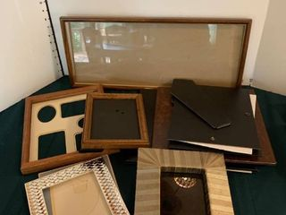 Assorted large picture frames