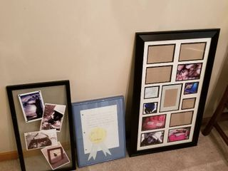 Picture frames set of 3